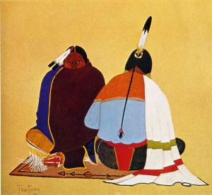American-Indian-Painting